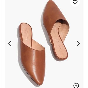NEW • Madewell • Remi Slip On Mule Leather Brown 7